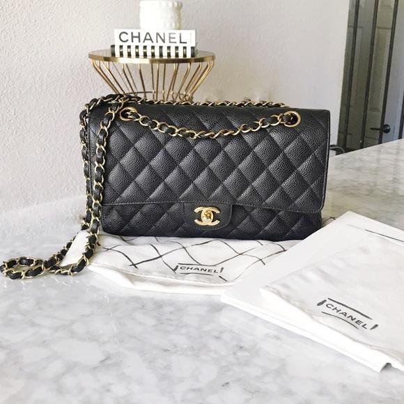 34d186ff1c0a CHANEL Bags | Double Flap Medium Caviar | Poshmark